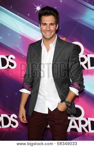 James Maslow at the 2012 TeenNick HALO Awards, Hollywood Palladium, Hollywood, CA 11-17-12