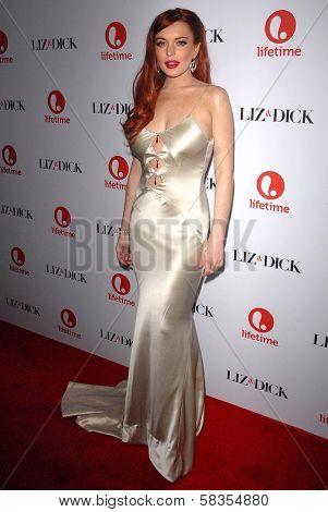 Lindsay Lohan at the