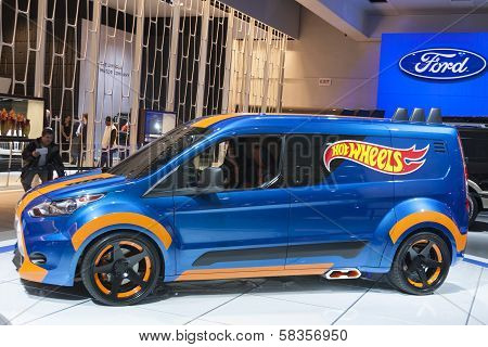 Detroit - January 26 :hot Wheels Show Car At The North American International Auto Show January 26,