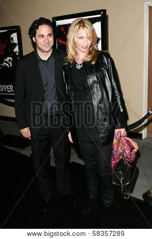 Gabe Sachs and Rosanna Arquette at the World Premiere of
