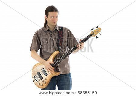 Bassist, Front View