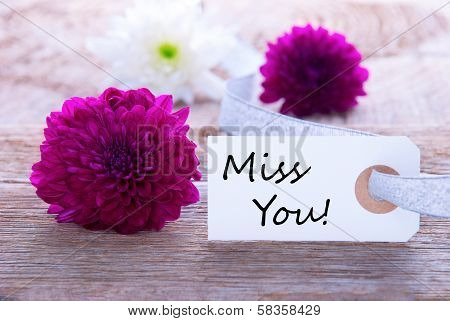 Label With Miss You