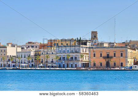 Panoramic view of Brindisi. Puglia. Italy.