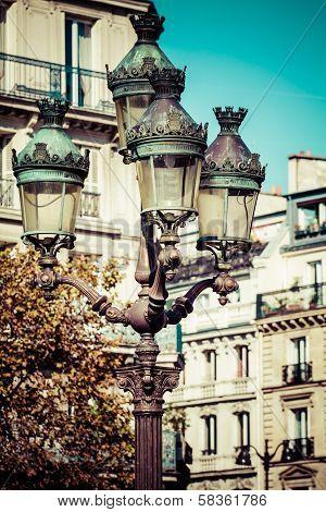 Luxemburg Palace In Paris