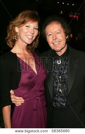 Cynthia Basinet and Kenny Lovelace at the Jerry Lee Lewis in-store appearance and performance. Virgin Megastore, Hollywood, CA. 10-12-06