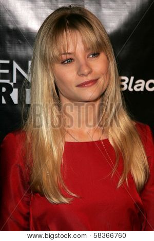 Emilie de Ravin at the Gen Art 9th Annual Fresh Faces in Fashion event, Barker Hanger, Santa Monica, CA 10-13-06