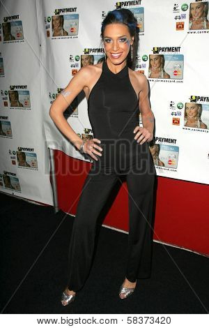 Ambria Miscia at the launch party for the Carmen Electra PrePaid MasterCard and the Carmen Electra Gift MasterCard. The Red Pearl Kitchen, Los Angeles, CA. 10-25-06