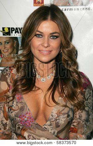 Carmen Electra at the launch party for the Carmen Electra PrePaid MasterCard and the Carmen Electra Gift MasterCard. The Red Pearl Kitchen, Los Angeles, CA. 10-25-06