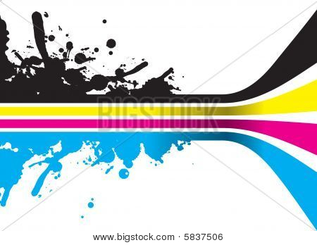 Cmyk Colour Strips