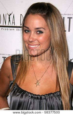 Lauren Conrad at the Sonya Dakar Skin Clinic Opening. Sonya Dakar SKin Clinic, Beverly Hills, CA. 10-24-06