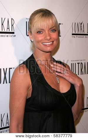 Jaime Pressly at the Sonya Dakar Skin Clinic Opening. Sonya Dakar SKin Clinic, Beverly Hills, CA. 10-24-06