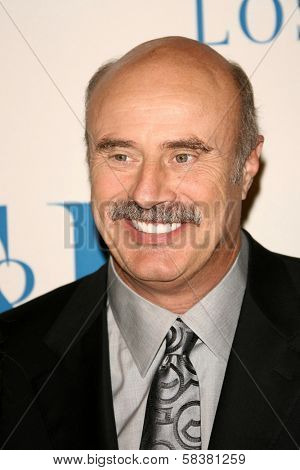 Dr. Phil McGraw at The Museum of Television & Radio's Annual Los Angeles Gala. Regent Beverly Wilshire Hotel, Beverly Hills, CA. 10-30-06