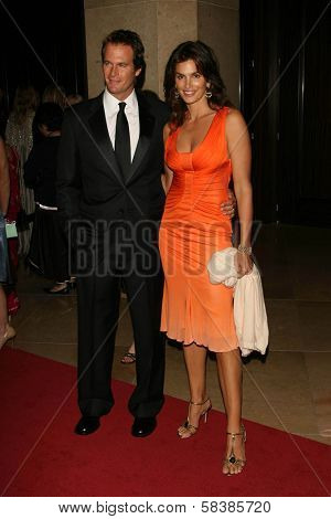 Rande Gerber and Cindy Crawford at the 21st Annual American Cinematheque Award Honoring George Clooney. Beverly Hilton Hotel, Beverly Hills, CA. 10-13-06