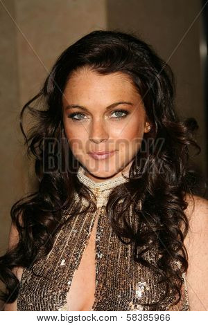 Lindsay Lohan at the 21st Annual American Cinematheque Award Honoring George Clooney. Beverly Hilton Hotel, Beverly Hills, CA. 10-13-06