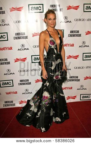 Molly Sims at the 21st Annual American Cinematheque Award Honoring George Clooney. Beverly Hilton Hotel, Beverly Hills, CA. 10-13-06