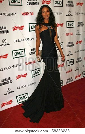 Joy Bryant at the 21st Annual American Cinematheque Award Honoring George Clooney. Beverly Hilton Hotel, Beverly Hills, CA. 10-13-06