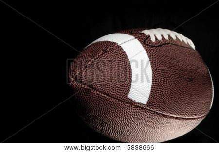Close up of football for Monday Night Football