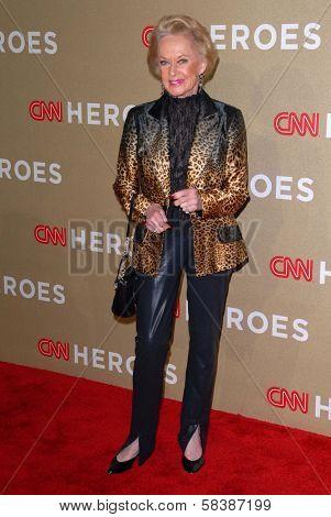 Tippi Hedren at CNN Heroes: An All Star Tribute, Shrine Auditorium, Los Angeles, CA 12-02-12