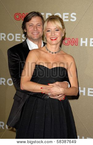 Grant Show, Katherine LaNasa at CNN Heroes: An All Star Tribute, Shrine Auditorium, Los Angeles, CA 12-02-12