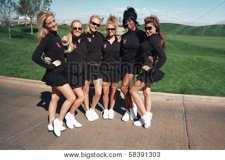 LAS VEGAS - OCTOBER 15 Playboy Participents at the Playboy's Golf Scramble Semi Finals October 15, 2006 in Las Vegas, Nevada.
