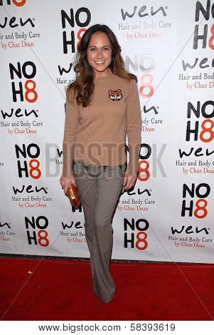 Nikki DeLoach at the NOH8 Campaign 4th Anniversary Celebration, Avalon, Hollywood, 12-12-12