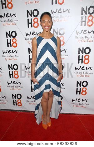 Lesley-Ann Brandt at the NOH8 Campaign 4th Anniversary Celebration, Avalon, Hollywood, 12-12-12