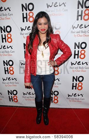 Ashley Argota at the NOH8 Campaign 4th Anniversary Celebration, Avalon, Hollywood, 12-12-12