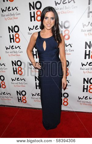 Caren Brooks at the NOH8 Campaign 4th Anniversary Celebration, Avalon, Hollywood, 12-12-12
