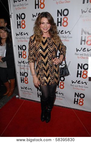 Cerina Vincent at the NOH8 Campaign 4th Anniversary Celebration, Avalon, Hollywood, 12-12-12
