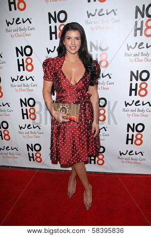 Gina La Piana at the NOH8 Campaign 4th Anniversary Celebration, Avalon, Hollywood, 12-12-12