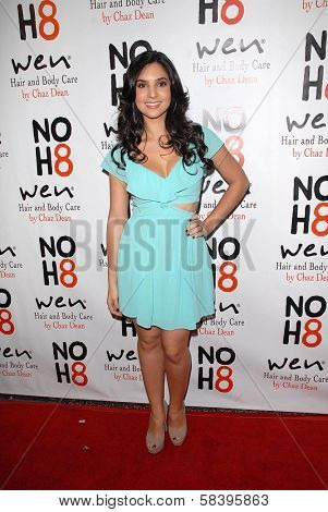 Camila Banus at the NOH8 Campaign 4th Anniversary Celebration, Avalon, Hollywood, 12-12-12