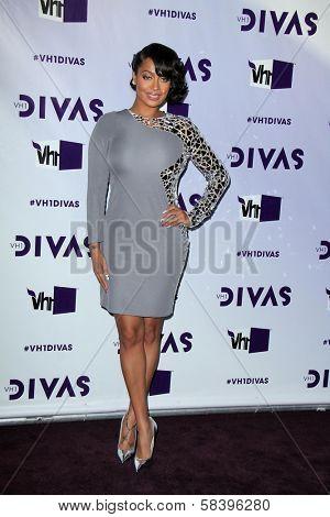 Lala Vasquez at VH1 Divas 2012, Shrine Auditorium, Los Angeles, CA 12-16-12