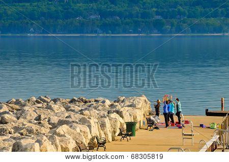 Lakeside Calisthenics