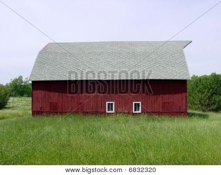 Red Barn back