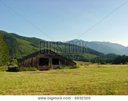 Olympic Peninsula Rural Scene