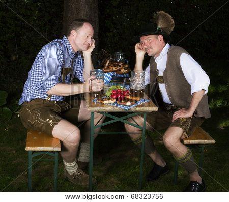Two Bavarian Men