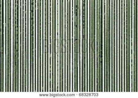 Strips From Soapsuds On A Green Background