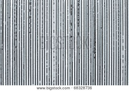 Strips From Soapsuds On A Silver Background