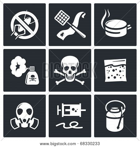 No Insects Icon Collection