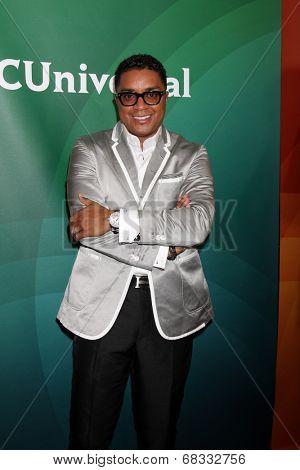 LOS ANGELES - JUL 14:  Bishop Clarence McClendon at the NBCUniversal July 2014 TCA at Beverly Hilton on July 14, 2014 in Beverly Hills, CA