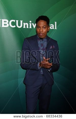 LOS ANGELES - JUL 14:  Deitrick Haddon at the NBCUniversal July 2014 TCA at Beverly Hilton on July 14, 2014 in Beverly Hills, CA