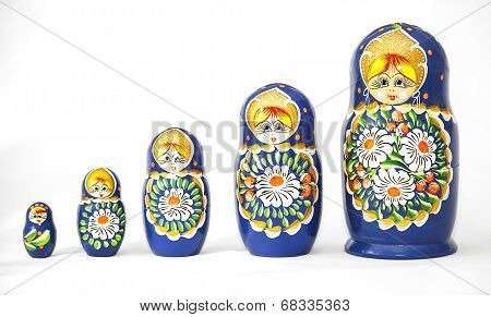 Russian Dolls Matrioska