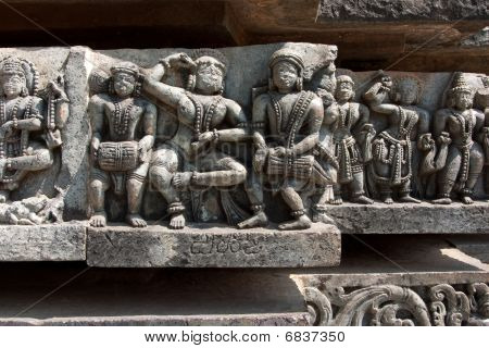 Carvings Of Musicians