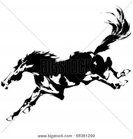 Japanese horse