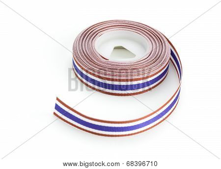 Thailand Flag Ribbon
