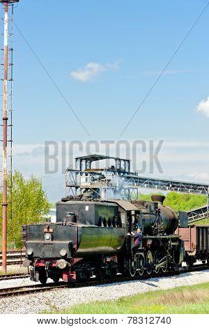steam locomotive in Tuzla region, Bosnia and Hercegovina poster