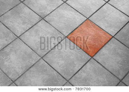 floor from tiles