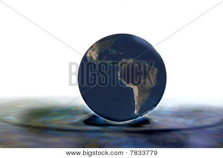 Globe Illustration 3D