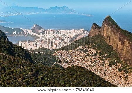Rio de Janeiro Urban and Nature Contrasts