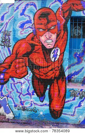 Flash supehero